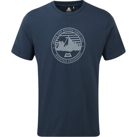 Mountain Equipment Roundel Tee Herrer, denim blue